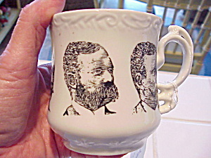UNUSUAL PORTRAIT SHAVING MUG (Image1)
