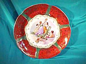 "OS PRUSSIA 11 1/2"" Plate with Mythological Scene (Image1)"