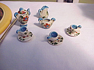 MINIATURE DOLL HOUSE TEA SET (Image1)