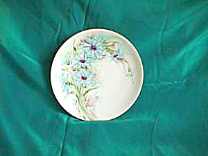 RS GERMANY handpainted, signed cake plate (Image1)