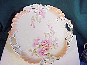 Rs Prussia Plate Hidden Image Flowers Nr