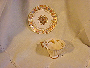 American Belleek Exquisite Cup and Saucer (Image1)