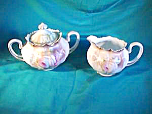 RS PRUSSIA (RED MARK) DAINTY CREAM AND SUGAR (Image1)
