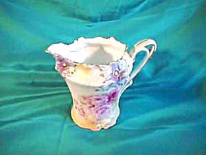 RS PRUSSIA (REDMARK) CARNATION MOLD CREAMER W/TIFFANY (Image1)