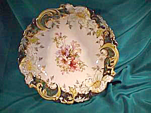 RS PRUSSIA (SAXE ALTENBURG) TIFFANY STEEPLE MOLD 3 BOWL (Image1)