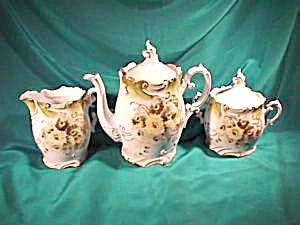 RS PRUSSIA (UM) EARLY YEARS  TEA SET (Image1)