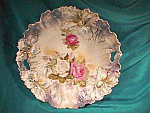 RS PRUSSIA (RED MARK) CARNATION MOLD PLATE (Image1)