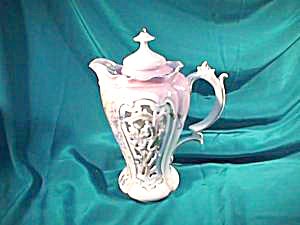 RS PRUSSIA (UM) MULTI-RETICULATED CHOCOLATE POT (Image1)