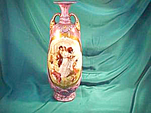 ROYAL VIENNA MAGNIFICENT  VASE W/MYTHOLOGICAL SCENE (Image1)