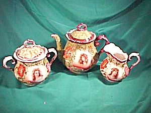 RS PRUSSIA (ES) PORTRAIT TEA SET (Image1)