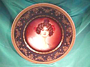 Royal Vienna (Beehive) Portrait Plate