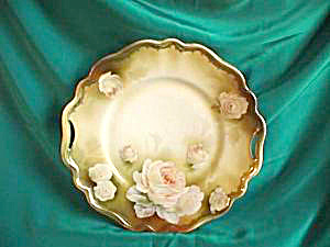 RS PRUSSIA (RED MARK) OPEN HANDLED CAKE PLATE (Image1)