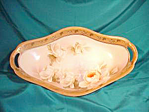 RS PRUSSIA (GERMANY) GOLD TRIMMED BREAD TRAY (Image1)