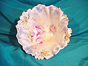 RS PRUSSIA (RM) CARNATION MOLD FOOTED BOWL (Image1)