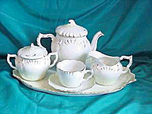 RS PRUSSIA  INDIVIDUAL TEA SET W/TRAY (Image1)