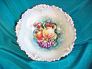 RS PRUSSIA (RM) BOWL IN BOWL W/FRUIT (Image1)