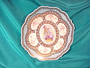IMPERIAL AUSTRIA COLONIAL WOMAN PLATE (Image1)