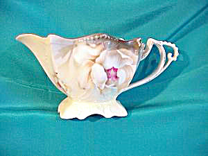 RS PRUSSIA (GERMANY) CREAMER W/PEDESTAL FT. (Image1)