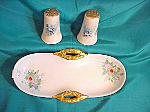 RS PRUSSIA (TILLOWITZ) CONDIMENT SET W/TRAY (Image1)
