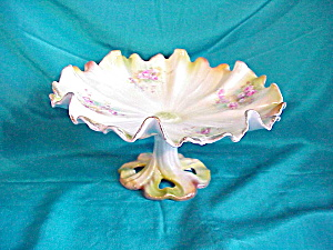 RS PRUSSIA (UM) LEAF FOOTED COMPOTE-SCALLOPED (Image1)