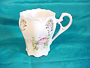 RS PRUSSIA (UNMARKED) CUP W/PINK HYDRANGEAS (Image1)