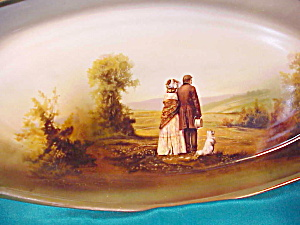 RARE RS PRUSSIA(GERMANY) TRAY WITH PORTRAITS (Image1)