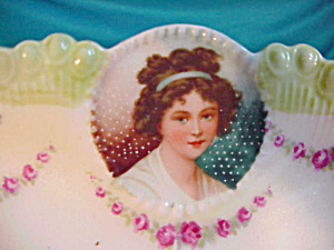 RS PRUSSIA (RM) SIX MEDALLION TRAY W/PORTRAIT (Image1)