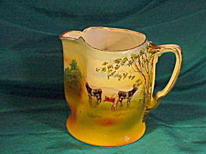 ROYAL BAYREUTH CATTLE PITCHER (Image1)
