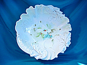 RS PRUSSIA(UM) EARLY BOWL W/HP FLOWERS (Image1)