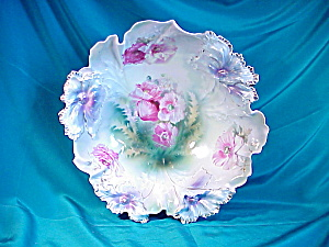 RS PRUSSIA(RM)CARNATION MOLD LARGE BOWL (Image1)