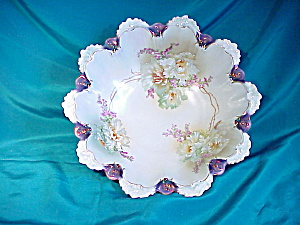 TIFFANY TRIMMED SCALLOPED H.P. BOWL (Image1)