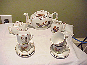 GERMAN CHICKEN CHILD TEASET (Image1)
