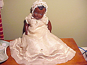 BLACK GIRL DOLL/PAINTED FACE (Image1)