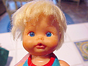 Remco 1972 Baby Doll W/mechanical Arms