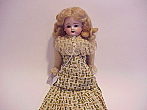 Antique Kestner ? Bisque Head Blonde Doll