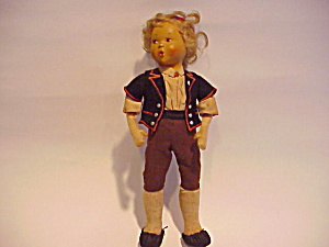 ETHNIC BOY DOLL CHARMING PURSED MOUTH (Image1)