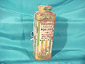 OLD MENNEN TALCUM FOR MEN IN METAL CASE (Image1)