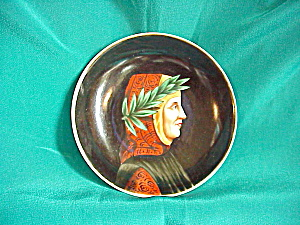 HAND PAINTED MINIATURE PORTRAIT BOWL (Image1)