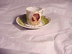 RS PRUSSIA PORTRAIT MINI  CUP AND SAUCER (Image1)