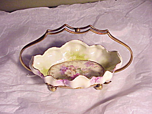 RS PRUSSIA MORNING GLORY TRAY IN SILVER HOLDE (Image1)