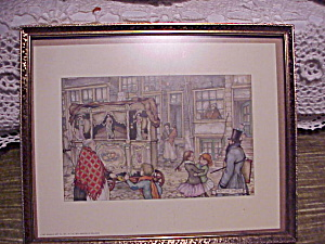 ANTON PIECK PRINT OF CALLIOPE AND CHILDREN (Image1)
