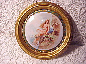 Rs Prussia Motif Framed Portrait Plaque