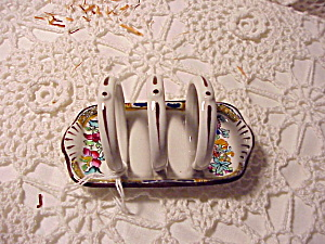 Rare Spode Child's Toast Holder