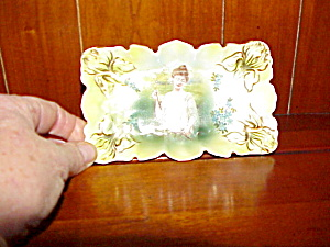 Rs Prussia Iris Mold Portrait Pin Tray