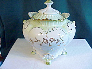Rs Prussia Pagoda Top Biscuit Jar