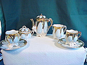 Rs Prussia Nine Piece Child's Tea Set
