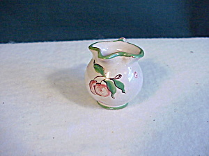 DOLL HOUSE POTTERY PITCHER H.P. (Image1)