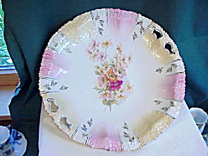 Rs Prussia Mold 201 Oh Plate Floral