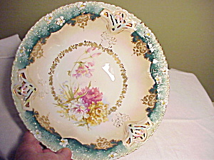 RS PRUSSIA RETICULATED BOWL W/FLOWERS (Image1)