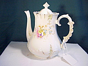 GORGEOUS RS PRUSSIA MOLD OM-156 TEAPOT (Image1)